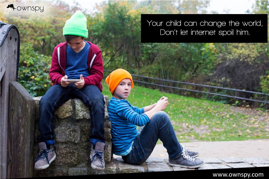 Why we Should Restrict our Children Activities on Internet